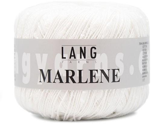 Lang Yarns Marlene 001 White