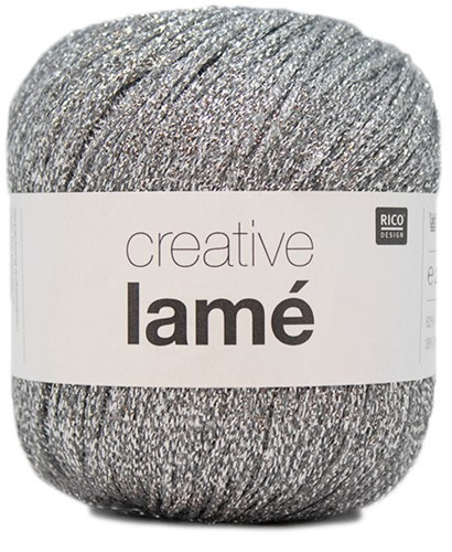 Rico Creative Lamé 001 Silber