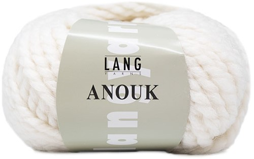 Lang Yarns Anouk 001 White