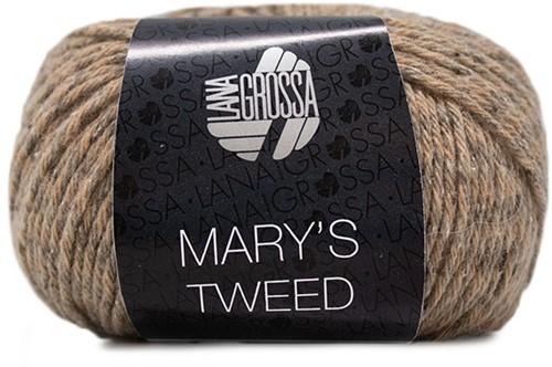 Lana Grossa Mary's Tweed 001 Camel Mottled