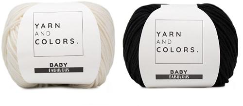 Yarn and Colors Classic Jumper Häkelpaket 2 Black XL