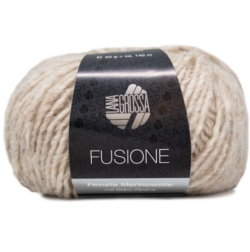 Lana Grossa Fusione 002 Beige-Nature Mixed