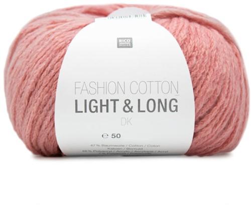 Rico Fashion Cotton Light & Long DK 02 Rosa Mix