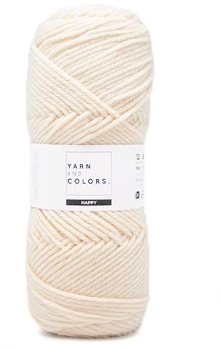 Yarn and Colors Maxi Cardigan Strickpaket 1 S/M Cream