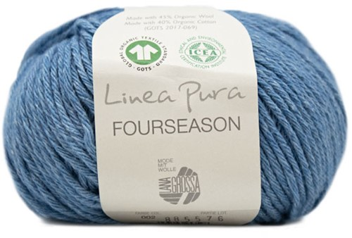 Lana Grossa Fourseason 002 Blue