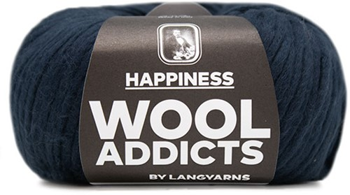 Wooladdicts Solid Stone Jacke Strickpaket 6 S Marine