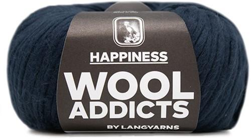 Wooladdicts Solid Stone Jacke Strickpaket 6 L Marine
