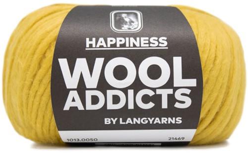 Wooladdicts Solid Stone Jacke Strickpaket 8 L Gold