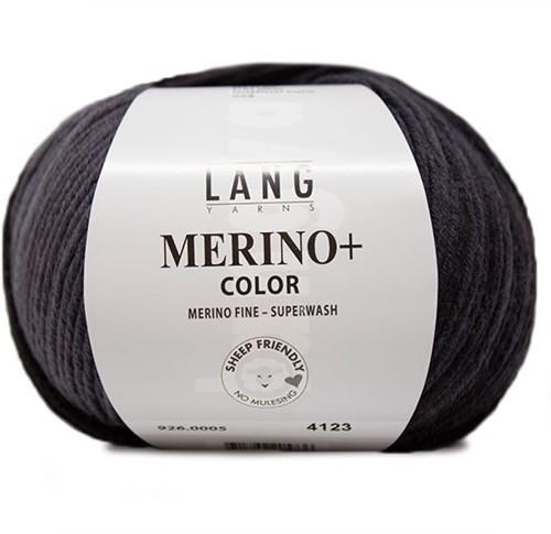 Lang Yarns Merino+ Color 005 Grey