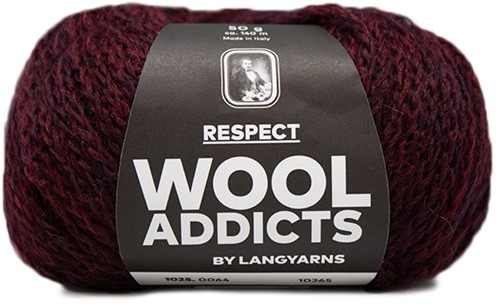 Lang Yarns Wooladdicts Respect 064 Sunset