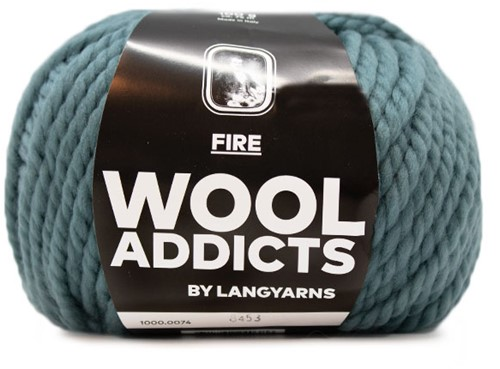 Wooladdicts Be Golden Pullover Strickpaket 2 XL Atlantic