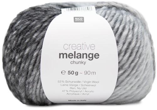 Rico Creative Melange Chunky 7 Grey