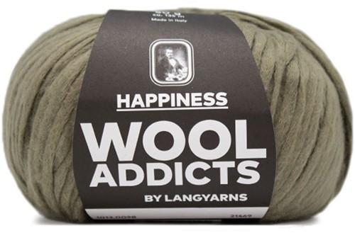 Wooladdicts Solid Stone Jacke Strickpaket 10 M Olive