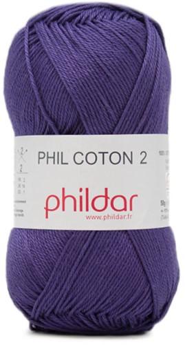 Phildar Phil Coton 2 0102 Encre