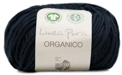 Lana Grossa Organico Uni 013 Night Blue