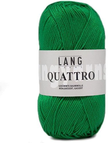 Lang Yarns Quattro 017 Grass Green