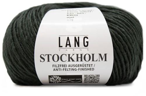 Lang Yarns Stockholm 18 Bottle Green