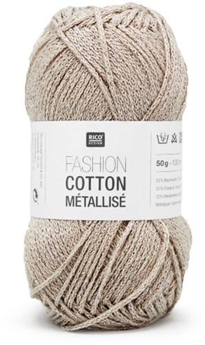 Rico Fashion Cotton Métallisé 1 Platinum