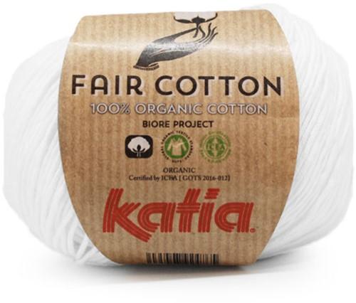 Katia Fair Cotton 01 White