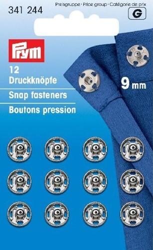 Prym Druckknöpfe silber 9mm
