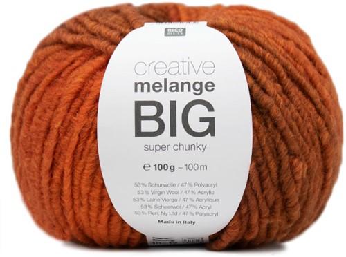 Rico Creative Melange Big Super Chunky 27 Brown-Orange