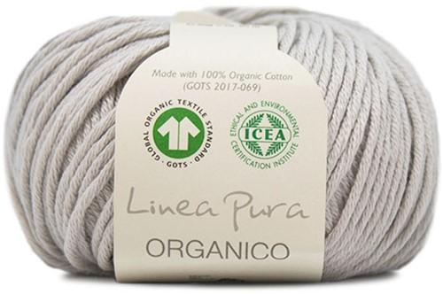 Lana Grossa Organico Uni 029 Light Grey