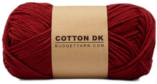 Budgetyarn Cotton DK 029 Burgundy