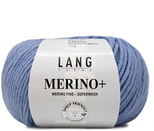 Lang Yarns Merino+ 033 Jeans