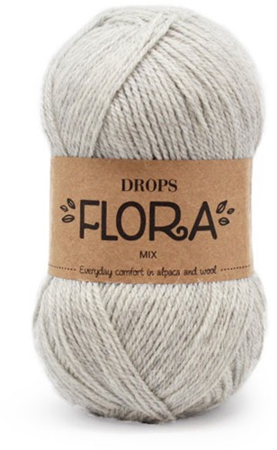 Drops Flora Mix 03 Light grey