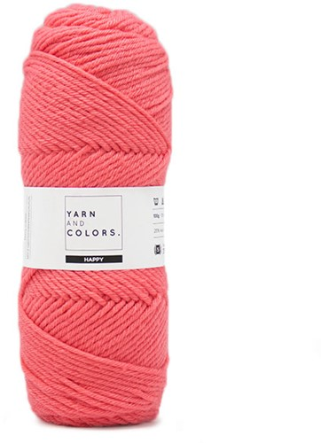 Yarn and Colors Maxi Cardigan Strickpaket 5 S/M Pink Sand