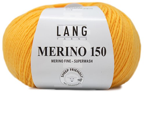 Lang Yarns Merino 150 049 Gold-Yellow