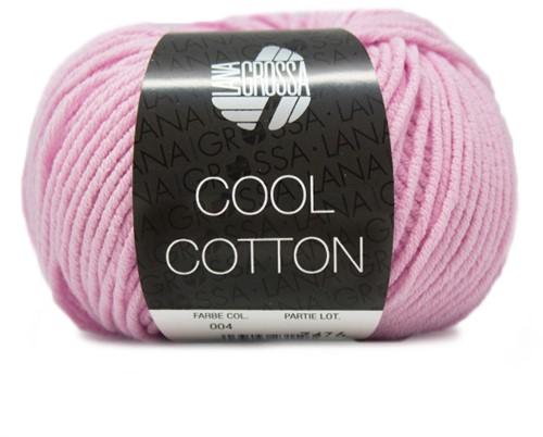 Lana Grossa Cool Cotton 4 Rose
