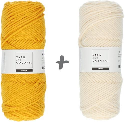 Traumdecke 3.0 CAL Häkelpaket 5 Mustard (Hauptfarbe)