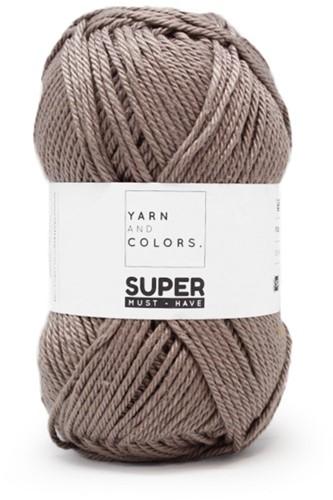 Yarn and Colors Leaf Cushion Häkelpaket 5 Clay