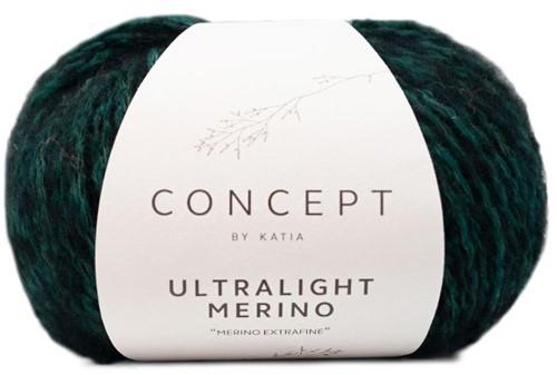 Katia Ultralight Merino 060 Green-Black