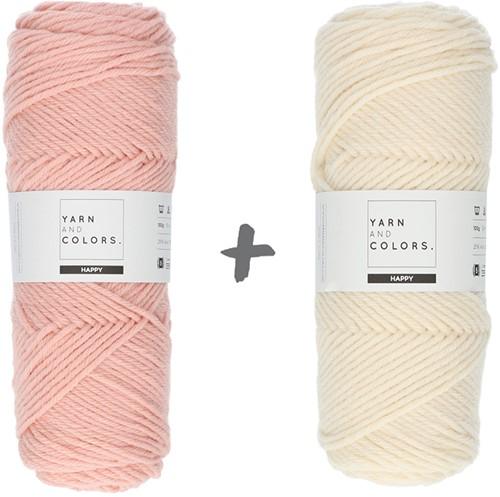 Traumdecke 4.0 CAL Häkelpaket 6 Rosé & Cream
