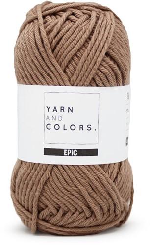 Yarn and Colors Basketweave Comfy Cushion Häkelpaket 006 Taupe