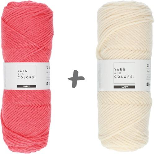 Traumdecke 3.0 CAL Häkelpaket 7 Pink Sand (Hauptfarbe)