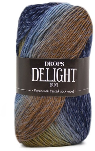 Drops Delight 07 Beige-blue
