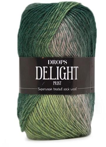 Drops Delight 08 Green-beige