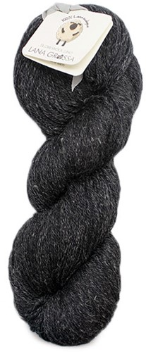 Lana Grossa Slow Wool Lino 008 Anthracite