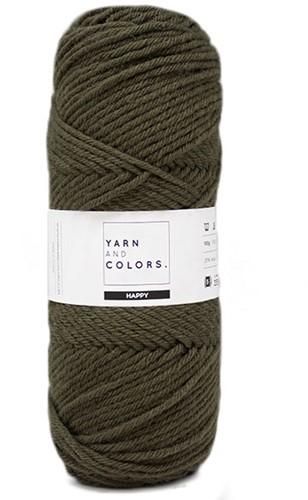 Yarn and Colors Maxi Cardigan Häkelpaket 11 L/XL Khaki