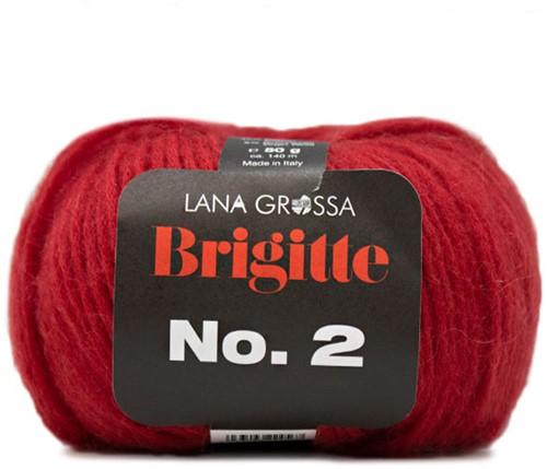Lana Grossa Brigitte No.2 009 Red