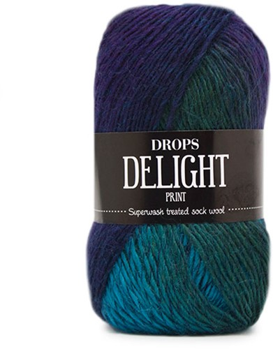 Drops Delight 09 Turquoise-purple