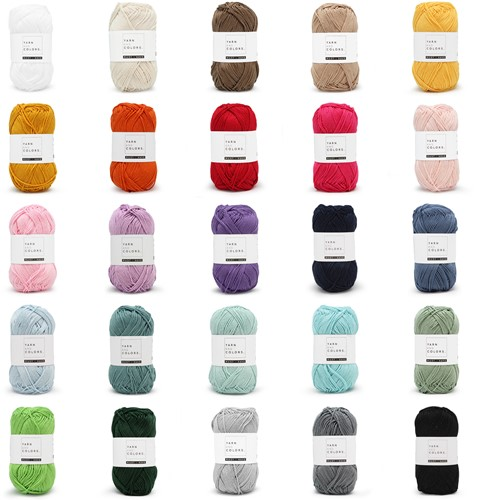 Yarn and Colors Must-have 25  Farben Paket 1 Mixed