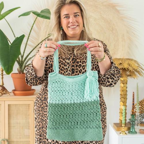 Häkelanleitung Happy Handmade Bag