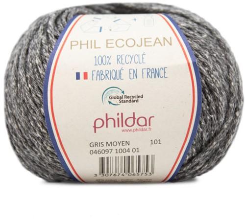 Phildar Phil Ecojean 1004 Gris Moyen