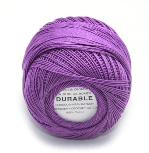Durable Stick- und Häkelbaumwollgarn 1005 Purple
