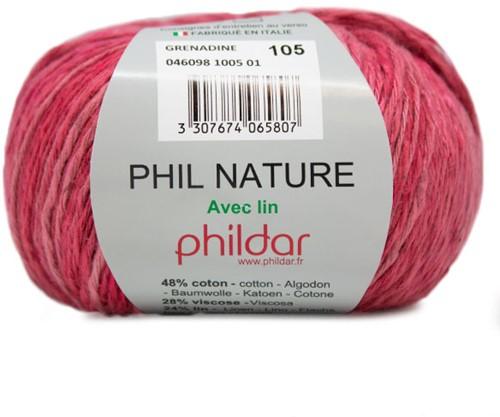 Phildar Phil Nature 1005 Pink