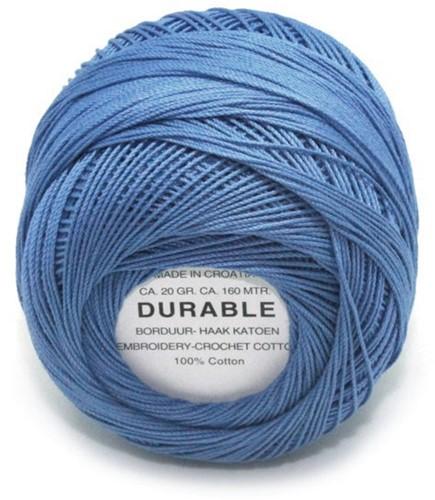Durable Stick- und Häkelbaumwollgarn 1006 Steel Blue